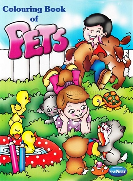 Colouring Book Of Pets