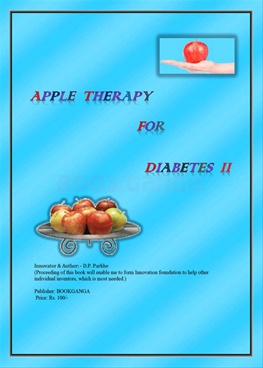 Apple Therapy For Diabetes