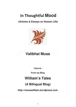 In Thoughtful Mood by Valibhai Musa - BookGanga