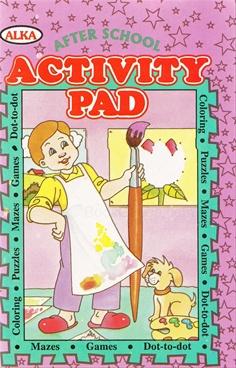 Activity Pad (Pink)