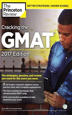 Cracking the GMAT with 2 Computer-Adaptive Practice Tests, 2016-ExLibrary