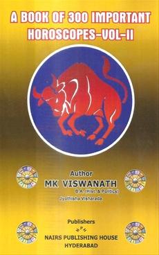 A Book Of 300 Important Horoscopes Vol - II