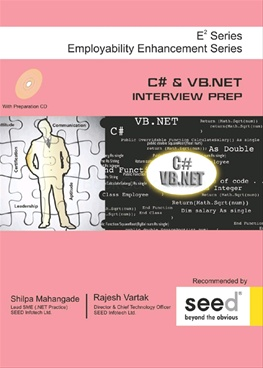 C # & VB. Net Interview Prer