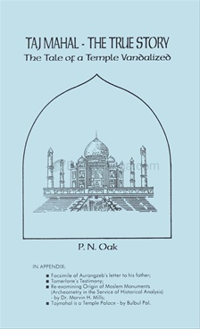 Taj mahal the true story book