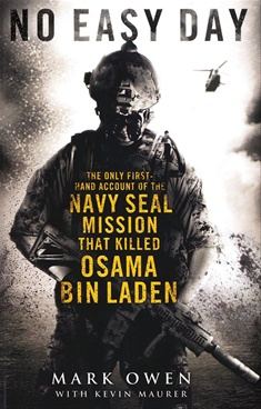 No Easy Day by Kevin Maurer, Mark Owen - Pengiun Books