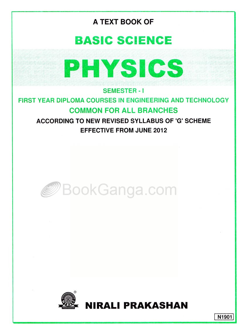 Basic Science Physics First Year Diploma Semester-1