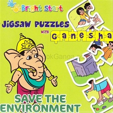 Jigsaw Puzzle With Ganesha Save The Envoirment