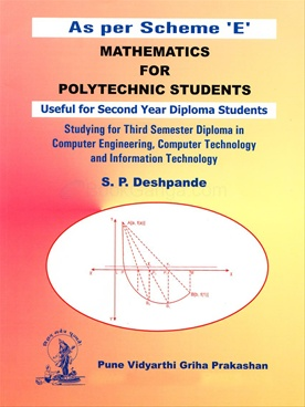 Mathematics For Polytechnic Students - Semester 3