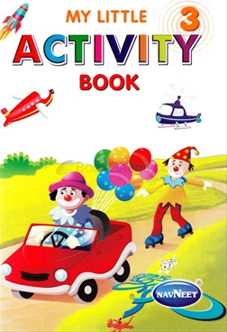My Little Activity Book - 3