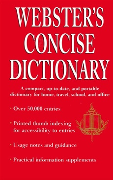 Webster's Concise Dictionary