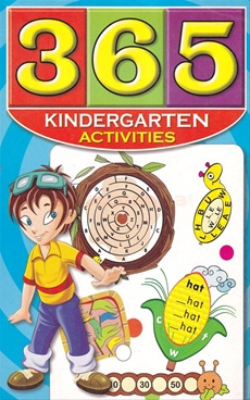 365 Kindergarten Activities (Blue)