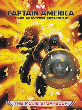 Captain America: The Winter Soldier Movie Storybook