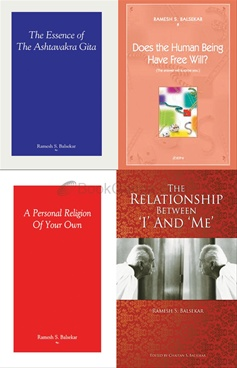 Self Realization & Free Will [Set of 4 Books]