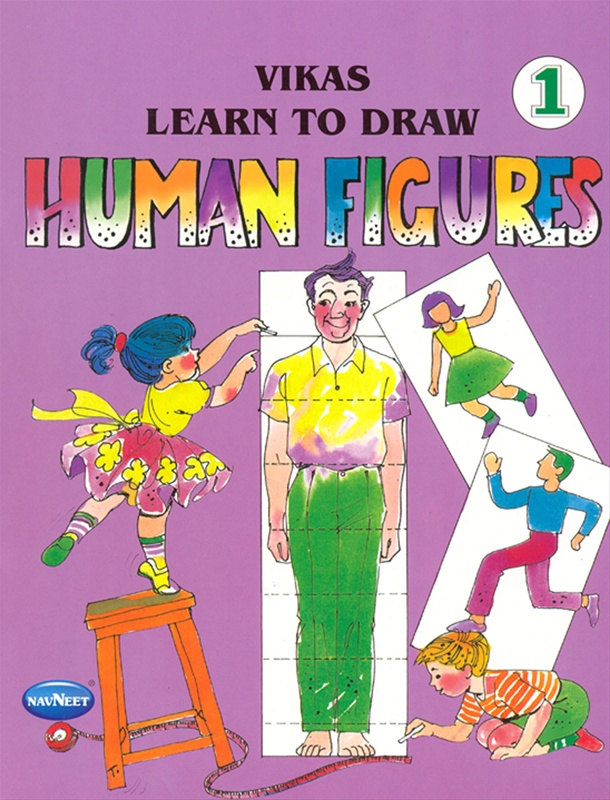 Vikas Learn To Draw Human Figures 1