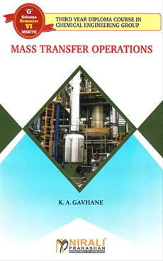 Mass Transfer Operations (Semester -G - VI)
