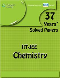 37 Years' Solved Papers IIT JEE: Chemistry