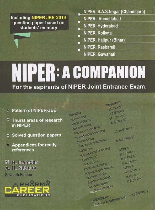 NIPER: A Companion ( Seventh Edition )