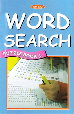 Word Search Puzzle Book 8
