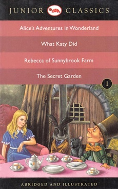 Alice's Adventure in Wonderland, What Katy Did, Rebecca of Sunnybrook Farm, The Secret Garden