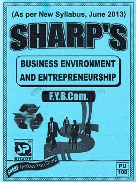 Business Environment And Entrepreneurship - F Y B Com