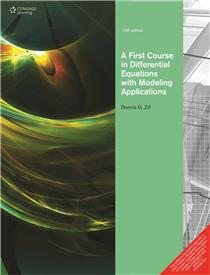 First Curse in Differential Equations With Modeling Application: 10th Edition