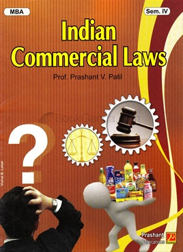 Indian Commercial Laws MBA Sem-IV