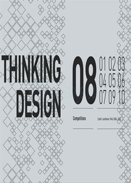 Thinking Design 08 (Competitions)