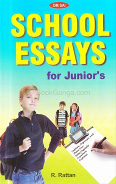 School Essays (For Junior's)