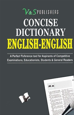 CONCISE DICTIONARY ENGLISH-ENGLISH (BIG)