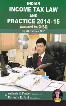 Indian Income Tax Law And Practice 2014 - 15