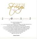 Singing Strings 2012