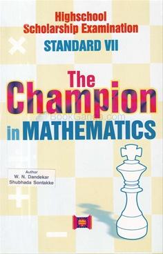 The Champion In Mathematics Std VII
