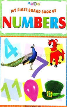 My First Board Book Of Numbers