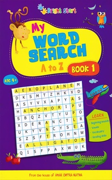 My Word Search A To Z Book No - 1