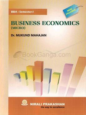 Business Economics (Micro) BBA : Semster - I