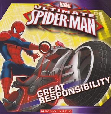 Ultimate Spiderman Great Responsibility