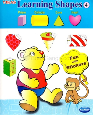 Vikas Learning Shapes Book - 4