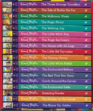 Enid Blyton Star Reads Series Box set (18 Books)