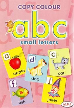 Copy Colour abc Small Letters