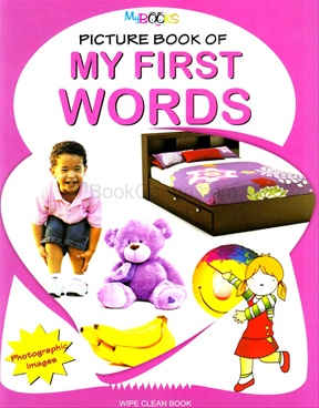 Picture Book Of My First Words