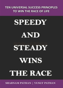Speedy And Steady Wins The Race ( English )