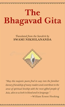 The Bhagavad Gita by Swami Nikhilananda (Pocket)