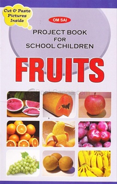 Project Book for School Children - Fruits