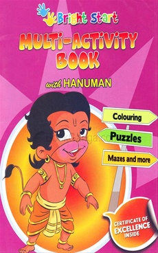 Multi - Activity Book With Hanuman