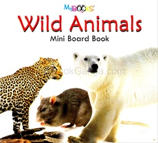 Wild Animals Mini Board Book