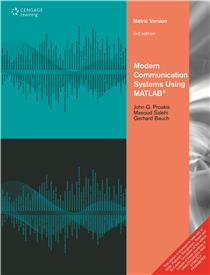 Contemporary Communication Systems Using Matlab Solution manual pdf