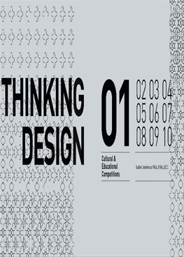 Thinking Design 01(Cultural & Educational Competitions)