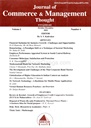 Journal Of Commerce And Management Thought Volume I