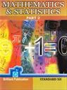 Mathematics & Statistics Part 2 Std. XII- 2014-15