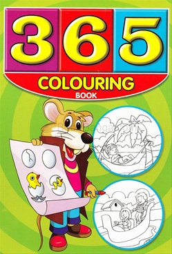 365 Colouring Book (Pink And Green)
